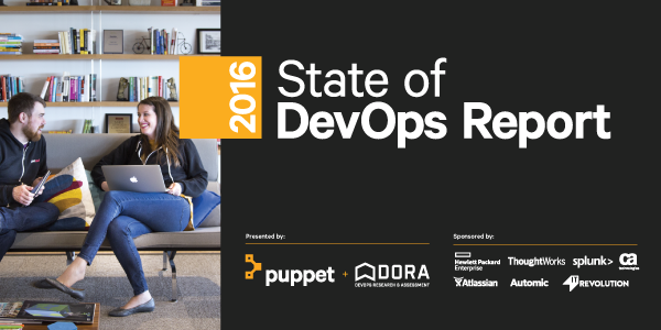 State of DevOps report 2016